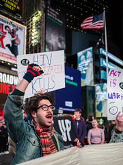 4N3A5617 (WorkingFamiliesParty) Tags: actupnewyork act up newyork ny protest hiv aids timessquare action community decriminalize international problem people united