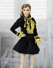 Poppy Parker Go see: eBay ID 152808905089 (Regina&Galiana) Tags: fashionroyalty integritytoys doll dress ooak nuface poppy parker go see