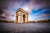 Arc de triomphe (modesrodriguez) Tags: paristraveleuropefrance arcdetriomphe arco triunfo clouds longexposure