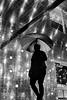 Keep dry (Birdhouse camper) Tags: copenhagen denmark light street silhouette fujifilm fuji fujifilmx100s x100s blackandwhite blackwhite umbrella