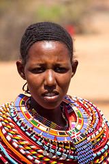 Samburu woman (geneward2) Tags: samburu woman neckpiece colorful africa kenya jewelry