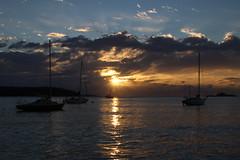 Sunrise at Batemans Bay (RossCunningham183) Tags: sunrise batemansbay nsw australia yachts boat river clyderiver clouds