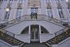 Bonn, 01, Stairway of the historical City Hall (Andy von der Wurm) Tags: bonn city town downtown stadt innenstadt zentrum nrw nordrheinwestfalen northrhinewestfalia germany deutschland allemagne alemania europa europe andyvonderwurm andreasfucke hobbyphotograph cityhall rathaus historisches historical outdoor stairway treppe empore