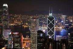 The City (superzookeeper) Tags: 5dmk4 5dmkiv hk hongkong canoneos5dmarkiv ef2470mmf28liiusm eos digital street peak victoriapeak central night cityscape sky skyline