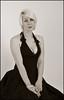 (observantshedmate) Tags: portrait babe breasts blonde boobs dress