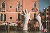 Venezia | Support (Michele Rallo | MR PhotoArt) Tags: michelerallomichelerallomrphotoartemmerrephotoartphotopho lorenzo quinn venezia venice mani hand hands support sculpture scultura sculture biennale biennale2017 laguna canal grande sagredo ca