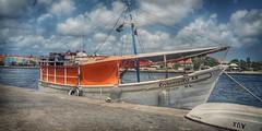 Carmencita II (Marina Is) Tags: barco barcosdepesca curaçao willesmad boat fishingboat fishingboatsharbor sliderssunday hss cielo sky clouds nubes puerto bote agua thegalaxy
