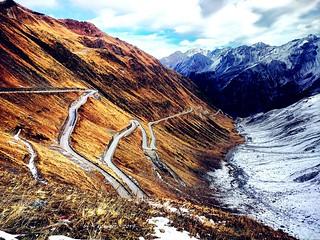 Stelvio pass (South Tyrol, Italy)