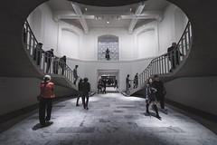 V.A.G at Night (Jeremy J Saunders) Tags: people stairs jjs jeremyjsaunders d850 nikon architecture vag artgallery vancouver