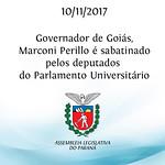 Governador Marconi Pirillo no Parlamento Universitário 2017