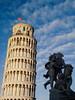 Pisa contrasts (saveriosalvadori) Tags: pisa architecture architettura art arte piazzadeimiracoli leaningtower