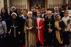 Second-Graders On All Saints' Day (Joe Shlabotnik) Tags: isabellap ryanm saints cecily november2017 morgan church williame 2017 millie xavierg yana isabeli flavia everett rosemilia miaw mateo catholic hannahr afsdxvrzoomnikkor18105mmf3556ged