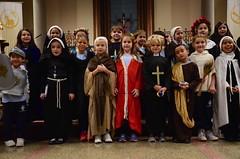 Second-Graders On All Saints' Day (Joe Shlabotnik) Tags: isabellap ryanm saints cecily november2017 chloe morgan church williame 2017 millie xavierg yana isabeli flavia everett kelsey rosemilia miaw mateo catholic hannahr afsdxvrzoomnikkor18105mmf3556ged