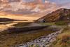 Low Tide at Laxford Bay. (Gordie Broon.) Tags: laxfordbay sealoch lowtide pier rhiconich laxfordbridge scottishhighlands scotland schottland caledonia landscape seascape kinlochbervie zeegezicht paysage bothy hills landschaft beach seaweed eveninglight escocia ecosse september 2017 paisaje marina paysagemarin gordiebroonphotography sunset hugeln collines northwestscotland nc500 heuvels scenery marinmalning scourie atardecer zonsondergang lecoucherdusoleil szkocja scozia scenic badnabay skerricha alltnasuileig lochlaxford canon5dmklll canon1635f4l geotagged heather sea sky clouds