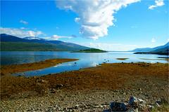 landscape......... (atsjebosma) Tags: baai wolken landscape clouds bergen landschap blue blauw atsjebosma norway 2017 ngc coth5 npc
