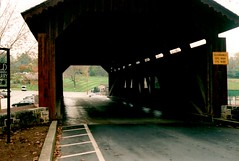 Stoner Bridge 1 (pauljohnson34) Tags: t70 canon ektar kodak messiahcollege coveredbridge bowmansdalebridge stonerbridge
