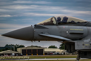 raf eurofighter typhoon from 29 squadron at riat 2017
