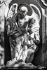 Escultura de San Miguel Arcángel - Sculpture St Michael the Archangel (Eva Ceprián) Tags: arte escultura art sculpture religión religion arcángel archangel iglesiacatólica catholicchurch catholicreligion estatua sanmiguel stmichael barcelona barceloneta blancoynegro blackandwhite santo saint nikond3100 tamron18270mmf3563diiivcpzd evaceprián