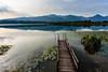 pontile al lago