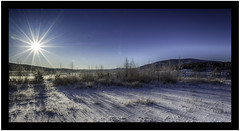 Cold day (kristentande) Tags: cold sun winter sky