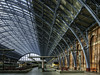 St Pancras International station (Tony Tomlin) Tags: london uk greatbritain england station stpancras eurostar highspeedtrain platform