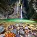 Slovenia - Kozjak waterfall