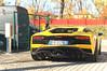 Triple Exhaust (Beyond Speed) Tags: lamborghini aventador s supercar supercars cars car carspotting nikon v12 yellow automotive automobili auto autodromo automobile imola finalimondiali finalimondialilamborghini racetrack italy italia