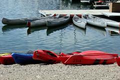 Kayak-n-Canoe-rental--Colte (DMREAnne) Tags: grandtetonnationalpark wyoming nationalparks wyomingusa tetons grandteton nationalparksintheusa boat boats kayak canoe canoes kayaks lake water