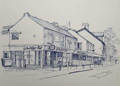 Shops opposite The Green, Acomb, York