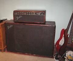 Fender Bassman amp (Steve Strong 100) Tags: fender bassman amplifier