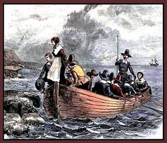 Landing from the Mayflower, 1620 (JFGryphon) Tags: mayflower 1620 pilgrimspuritans separatists plymouthmassachusetts thanksgiving