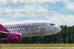 WizzAir (NoisySquirrel) Tags: wizzair airbus airplanes aircraft air sky clouds cloud