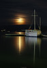 Autumn night @ Porto Heli, GR (Yannis Raf) Tags: greece sea seascape boat moon colours canon canoneos canon6d 6d ef24105mmf4 reflections