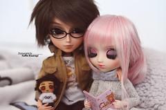 Perfect family (·Yuffie Kisaragi·) Tags: doll dolls pullip xiao fan custom rakerusensei pingrey taeyang prince ramiro kenjiro obitsu rewigged rechipped