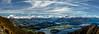 Mount Aspiring National Park (Joseph Stevenson Photography) Tags: wanaka mountain panorama aspiring nationalpark newzealand nz landscape lake view roys peak midday hilltop horizon hiking distant