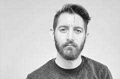 (Damien Cox) Tags: male person ego i self portrait bw blackandwhite mono face