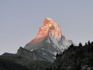 Matterhorn by sunrise