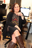 Ignore the mess (Corinne in PA) Tags: crossdresser crossdressing cd transgender tgirl trans transgirl transisbeautiful transproud genderfluid gurl girlslikeus femme woman working legs bbw boots