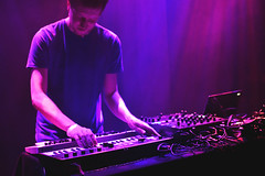 Dorian Concept Live (R. WB) Tags: dorian concept live concert jazz cafe cambden town europe electronic music moog electronica beats piano synths synth synthesizer