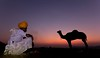 Nómadas (Jhaví) Tags: pushkar india nomadas puestadesol sunset cielo orange camel camello camelfair travel viajar explore