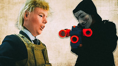 Nerf War Message to President Donald Trump (ft Anonymous) (PN Studios) Tags: nerf donaltrump nerfgunvideos anonymoushackers nerfwar nerfgun firstpersonshooter nerfgunwar nerfwarfirstpersonshooter3 battle nerffps nerfvulcan president nerfsquad fps hackers nerfzombies war anonymous fpsgames squad nerffirstpersonshooter nerfvideo pnstudios guns shooter nerfgungame nerfrival nerfgunmod nerfwars nerfzombie nerfmod nerfelite nerfguns nerfwar3 firstpersonshooter3 nerfbattle