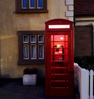 Built Structure Building Exterior Telephone Booth Architecture Red Communication Door No People Outdoors Pay Phone Window Telephone Day Orlando, Florida- Disney Epcot Disney World at Epcot