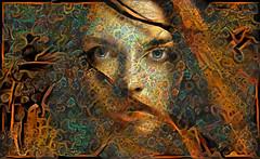 Red hair (cirooduber) Tags: visualart trollieexcellence digitalarttaiwan deepdream ostagram artdigital