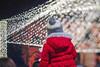 Waiting for Santa (petrapetruta) Tags: kid bokeh bubbles lights christmas illuminated red