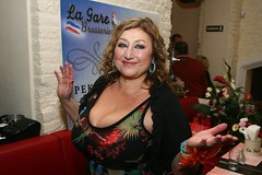 Halina Pawlowska (clarin1077) Tags: boobs breasts tits juggs cleavage huge big massive milf czech author hot sexy tanned heavy gigantic hanging gilf