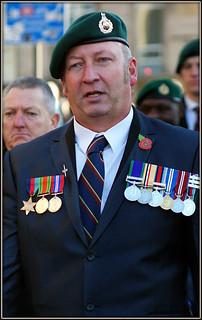 Royal Marine veteran