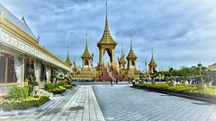 Royal Cremation Ceremony King Rama 9 Bangkok, Thailand (Bobby_saksit) Tags: royalcremation bangkok culture architecture leicaq kingrama9 thailand