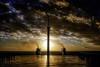 Hiding (Kari Siren) Tags: hide sun sunset ship ferry sea flickrdiamond
