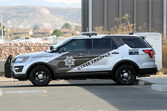 Arizona State Trooper (twm1340) Tags: az arizona state trooper police leo law enforcement dps highway patrol ford explorer car campverde substation station office lot