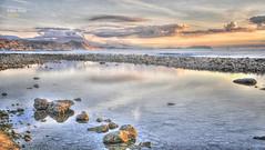 (841/17) El Campello (Alicante) (Pablo Arias) Tags: pabloarias photoshop photomatix capturenxd españa cielo nubes roca paisaje mar agua mediterráneo amanecer montaña elcampello alicante comunidadvalenciana